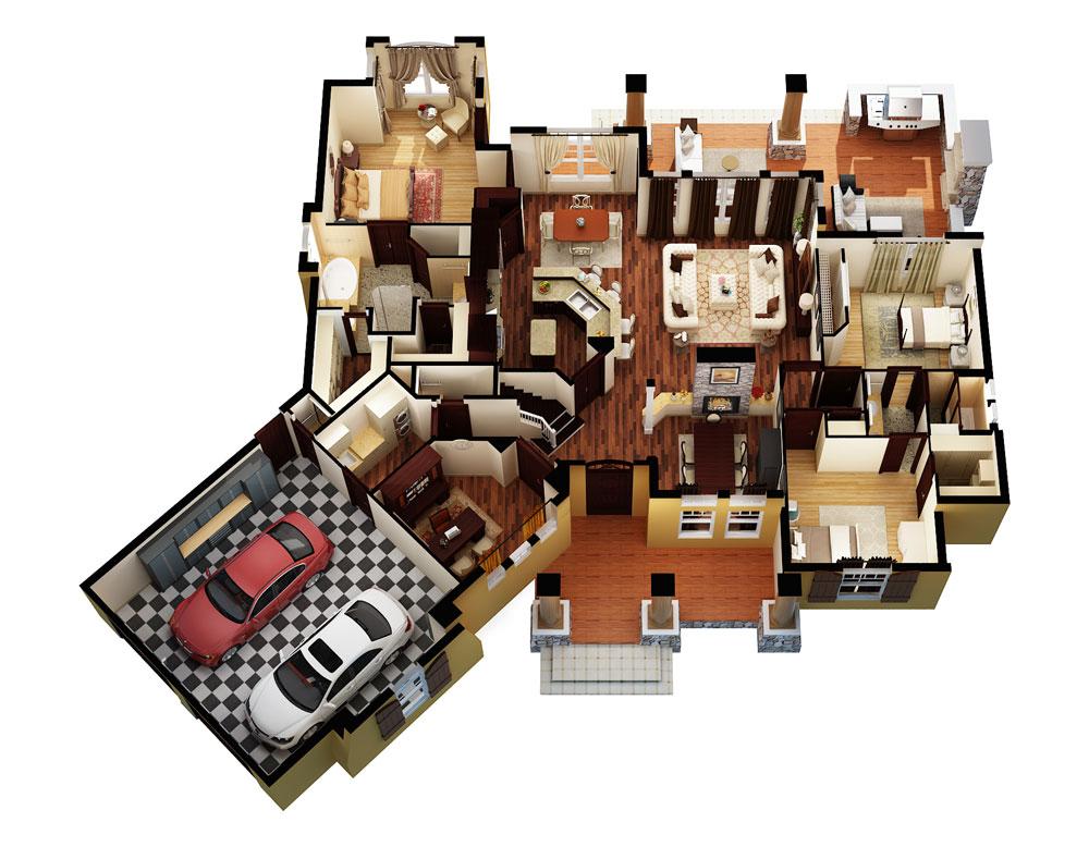 house floor plans 3 bedroom 2 bath 3d. 3d floor plan house plans 3 bedroom 2 bath 3d
